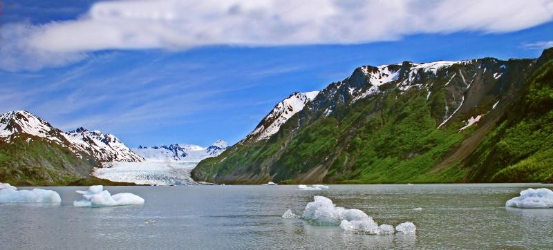Katchemak Glacial Lake