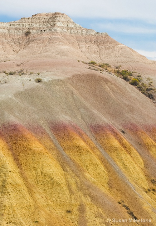Badlands, SD Yellow Mounds 0731