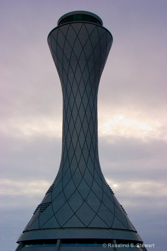 Edinburgh Airport Air-Traffic Control Tower