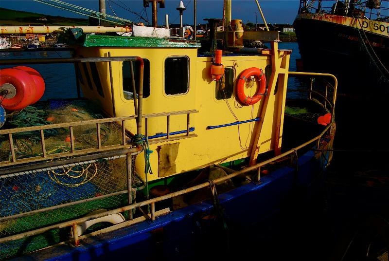Irish fishing boat