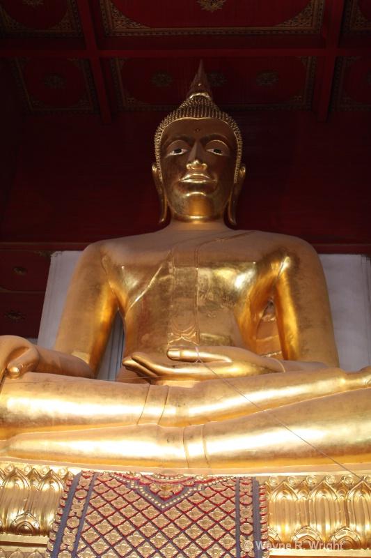 buddha at ayuthaya