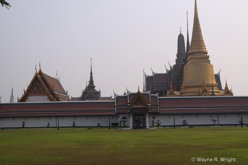 outside royal palace