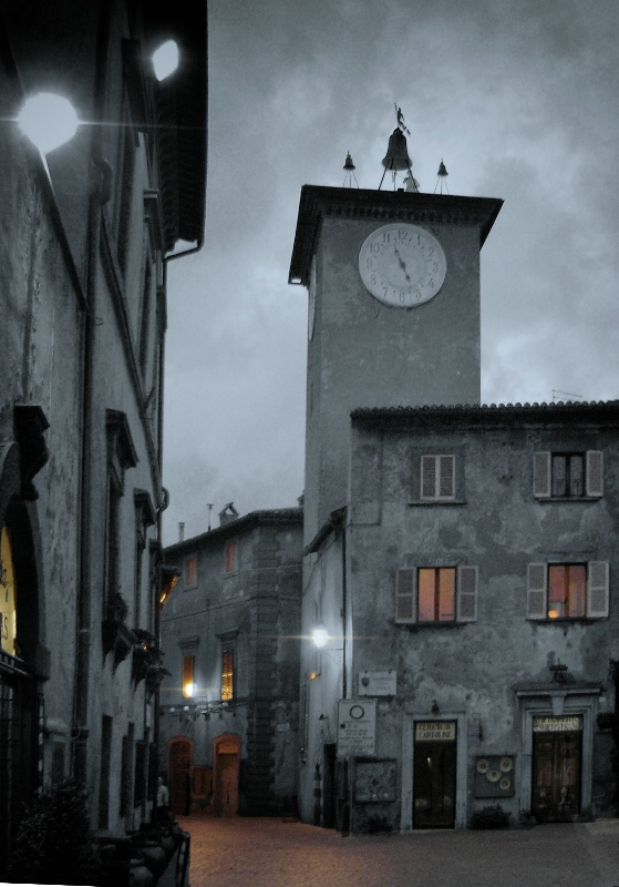 Grey Evening in Italy
