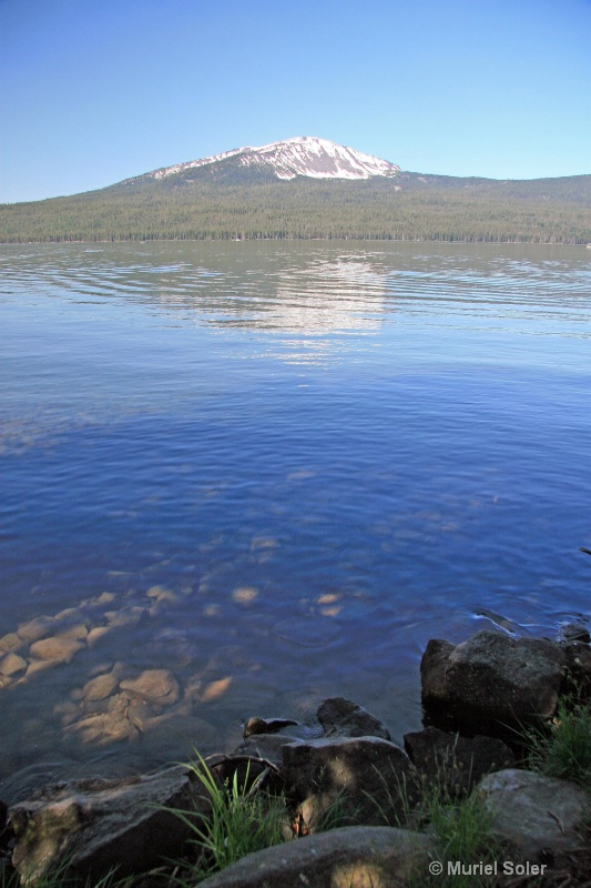 Diamond lake, OR