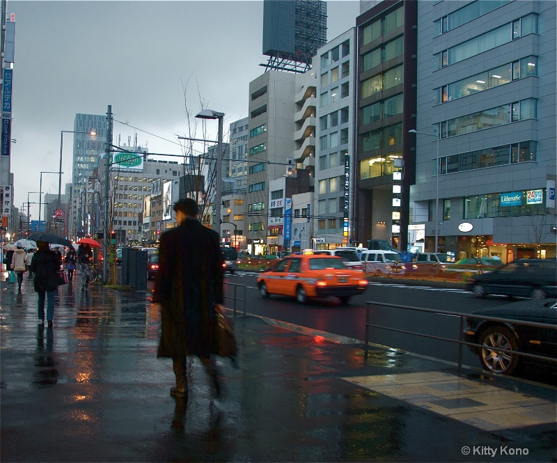 End of a Long Day - Tokyo