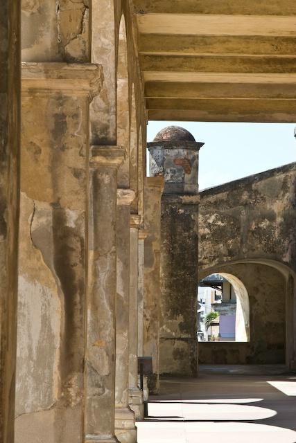 Fort San Cristobal, Od San Juan