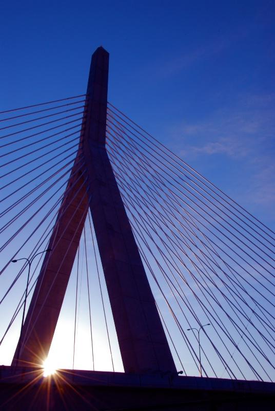 Zakim Bridge; Boston