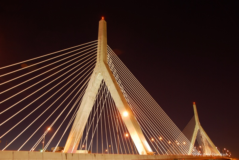 Lenny Zakim bridge 1; Boston