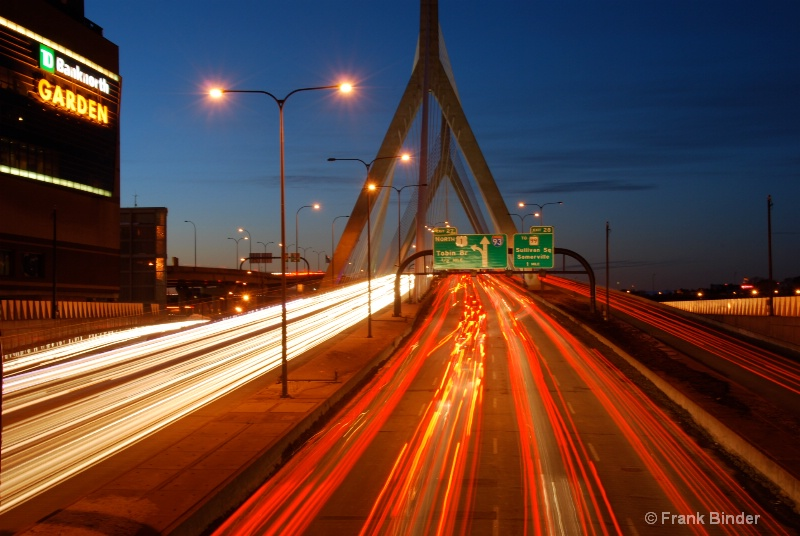 Lenny Zakim bridge 2; Boston