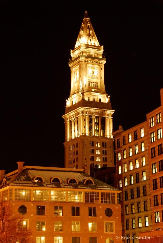 Custom House Tower; Boston
