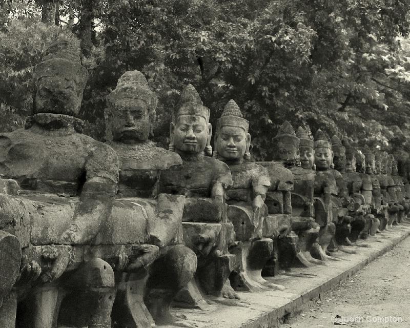 Khmer warriors