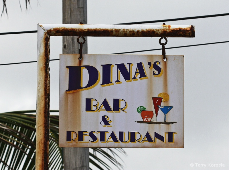 Caribbean sign