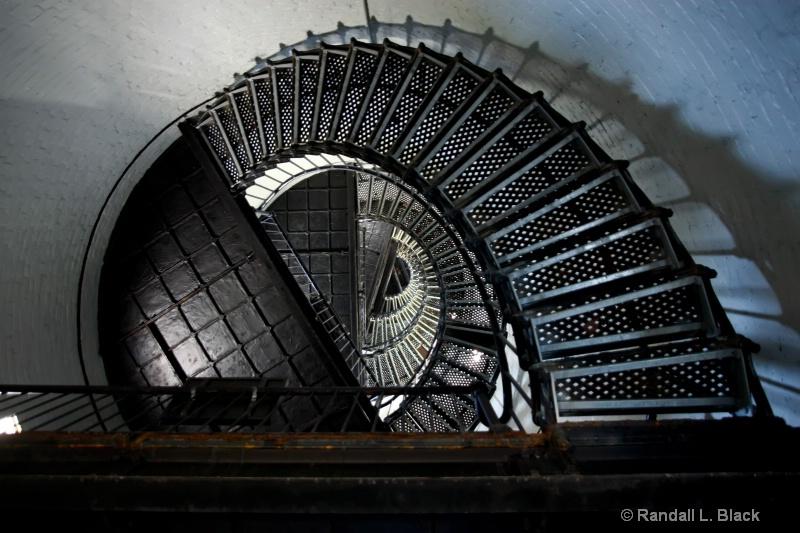 Hunting Island Light Stair