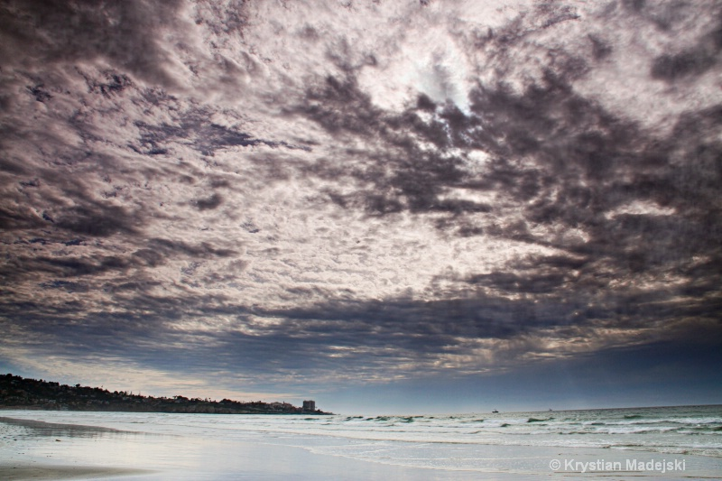 La Jolla Beach sky