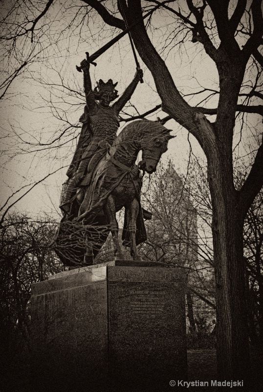 Wladyslaw Jagiello King of Poland Central Park NYC