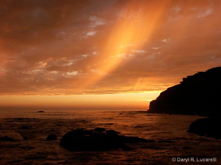Wspe Rain Cloud Sunset