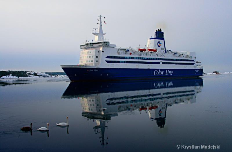 Sweden Norway ferry Sandefiorden