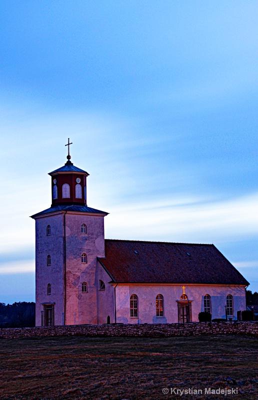 Sunrised church