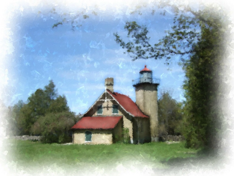 Eagle Bluff Lighthouse, Ephraim, WI