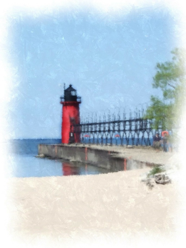 South Haven South Pier Light, So. Haven, MI