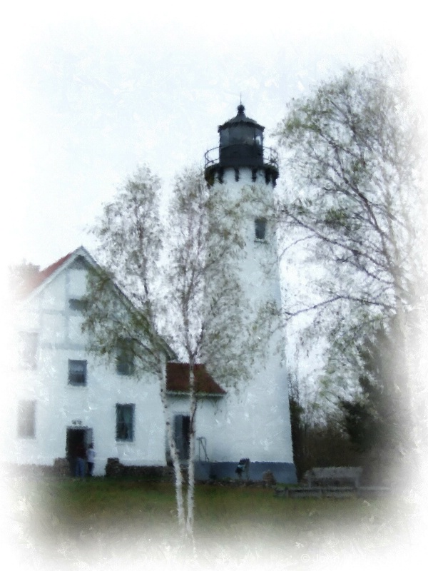 Point Iroquois Lighthouse, Brimley, MI