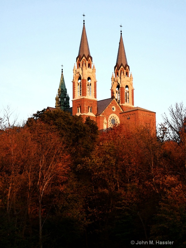 Holy Hill in the Evening