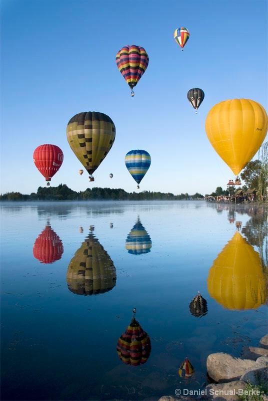 Ballons Over Henley Lake