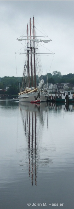 Reflections at Mystic Seaport