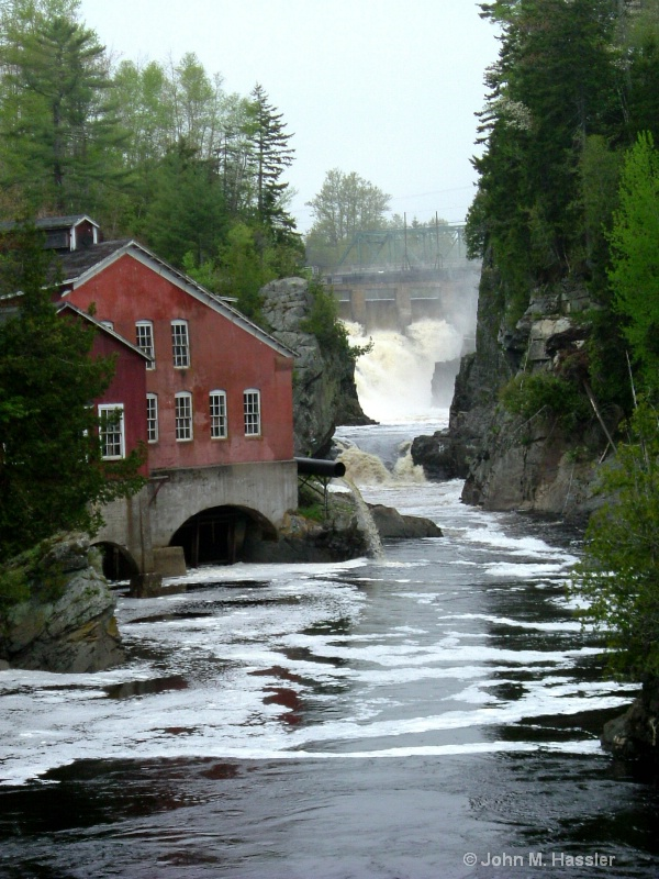 Old Mill Stream, St. George, NB
