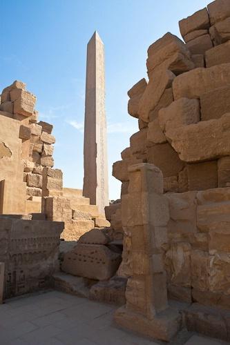 The Obelisk of Ramses II Soars 82 feet
