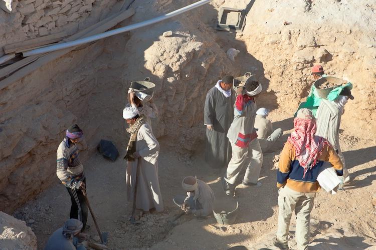 Active Excavation