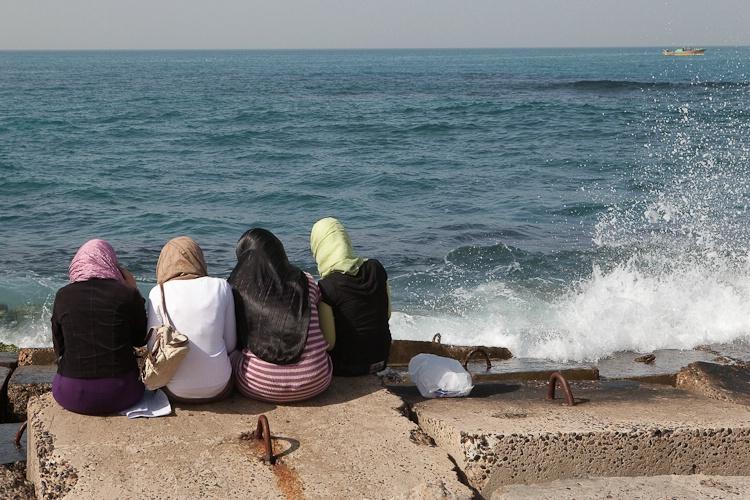 Breakwater Along the Mediterranean Coast