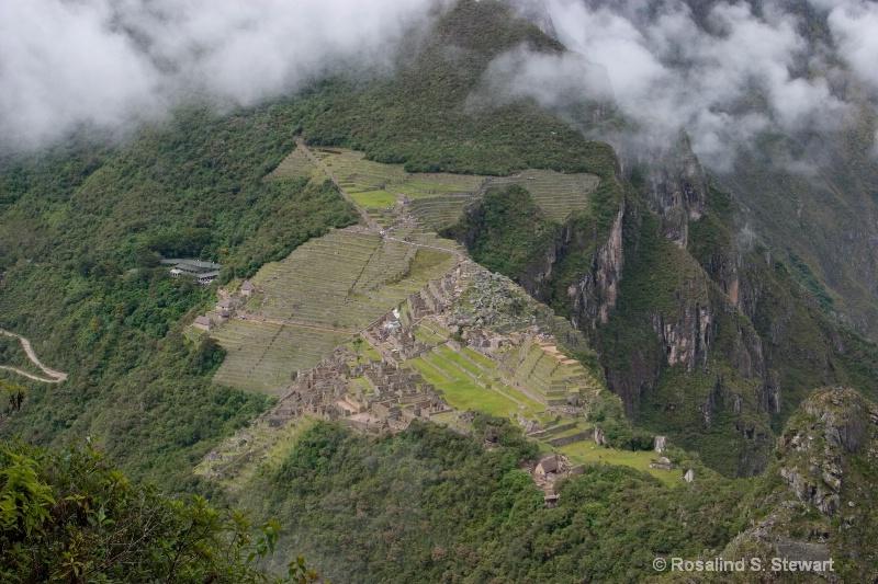 View of Machu Picchu from Wayanpicchu