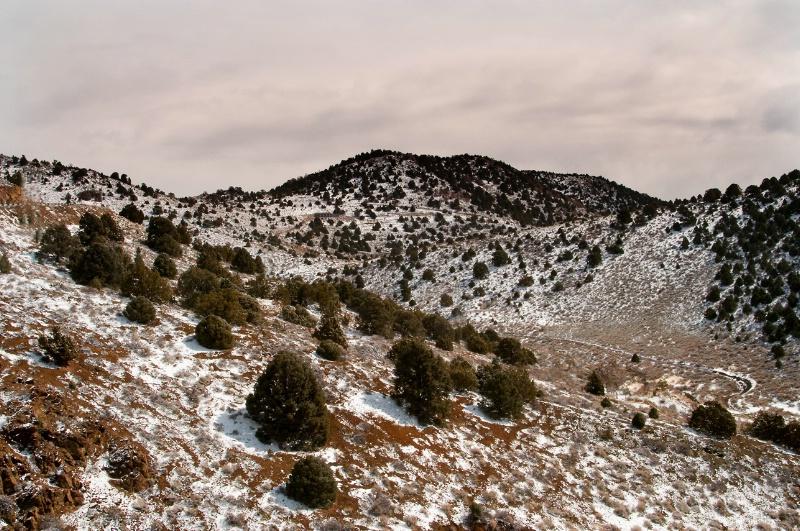 Virginia City Mountain