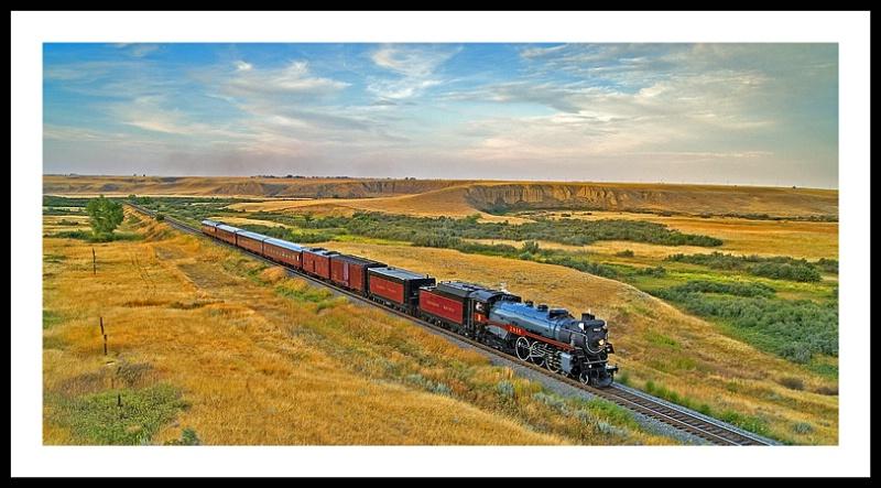 CPR 2816 Empress Steam Train