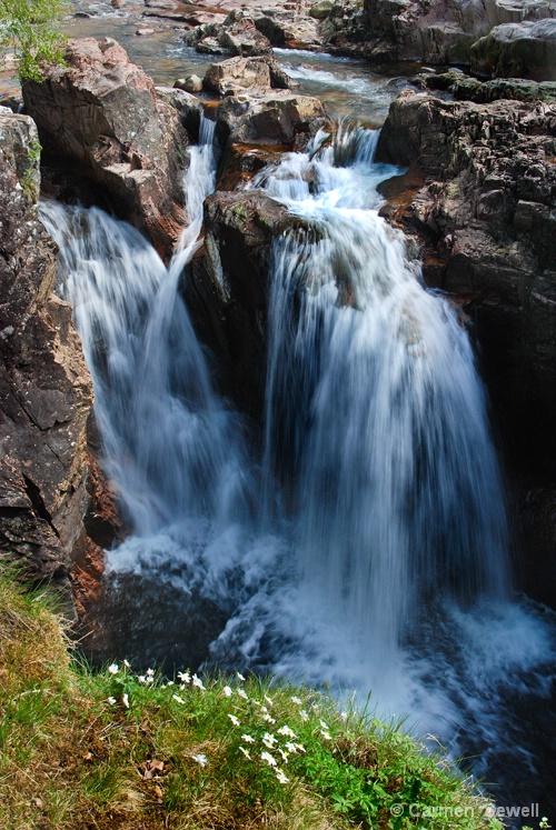 Waterfall Near Glencoe