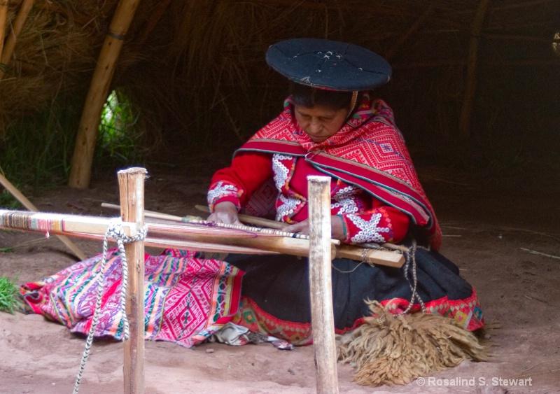 Indigenous Peruvian Weaver