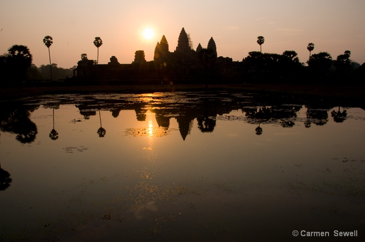 Sunrise over Angkor Wat  Siem Reap, Cambodia