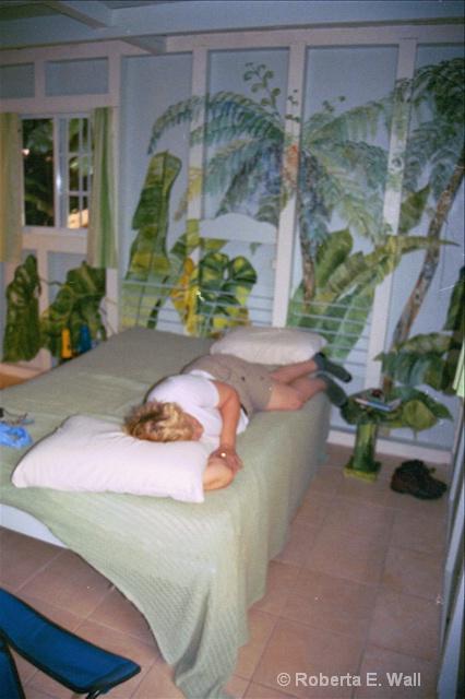 Bobi in room at Ecolodge