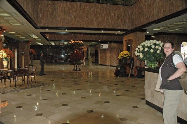Joan in Quito Hotel