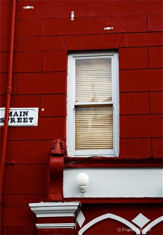 Corner of Red & Main St.