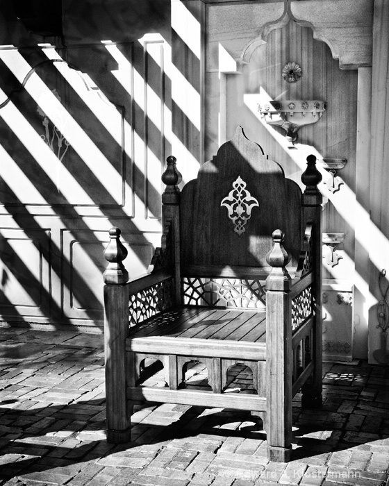 Empty Throne, Ottoman Garden, Mobot