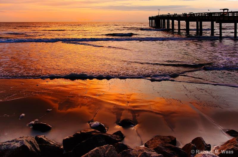Sunrise at Anastasia Pier