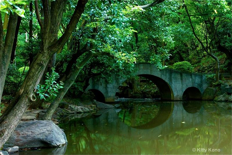 Bridge at Arisugawa from Left Bank