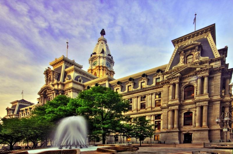 City Hall of Philadelphia
