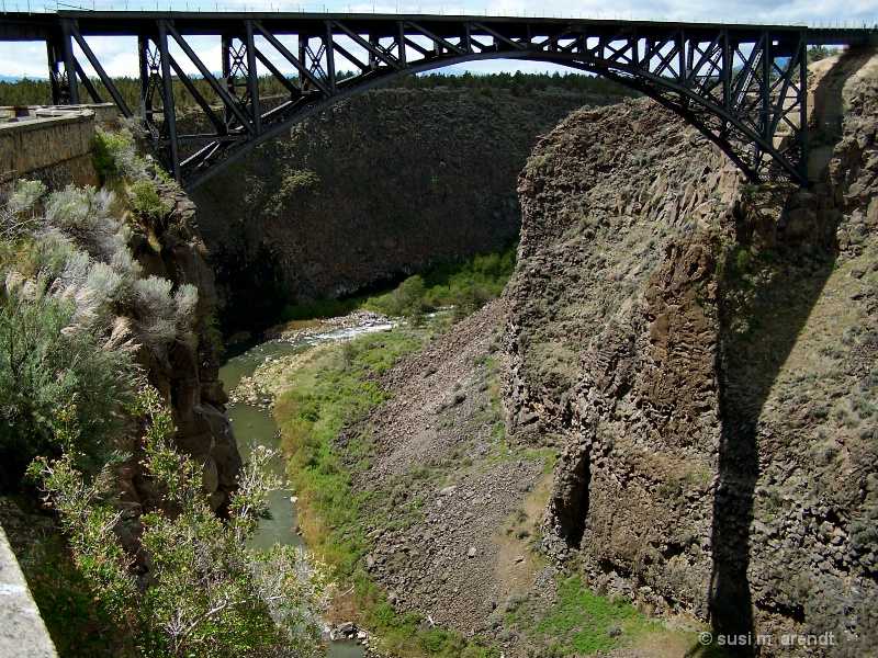Crooked River w/ Bridge
