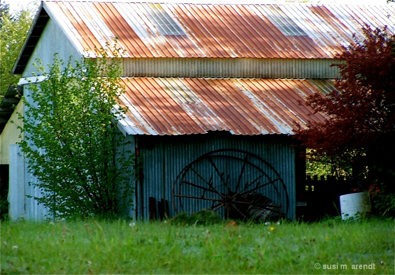 Barn and Roof