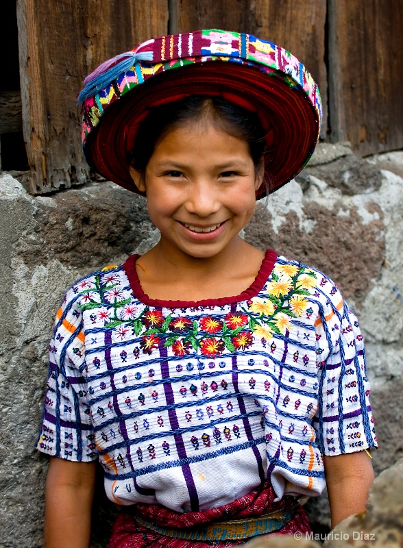 Girl Wearing Tocoyal