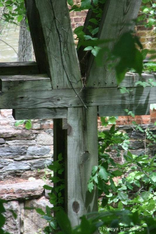 Old Mill Waterwheel - Sweetwater Creek State Park,
