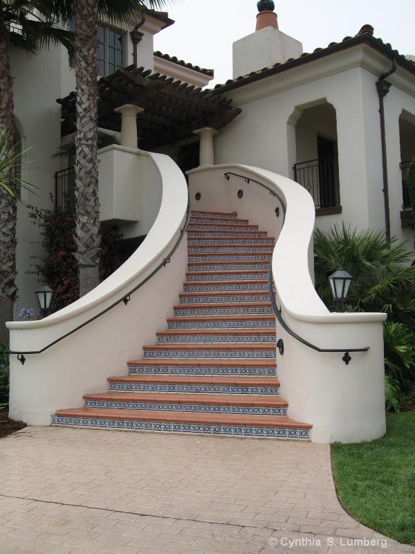 Bacara  Staircase
